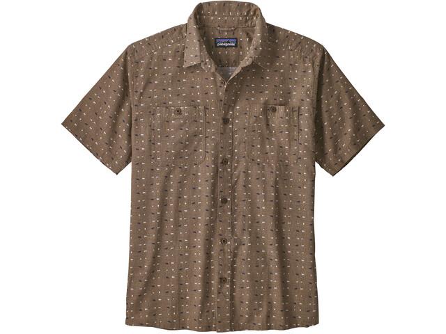 Patagonia Back Step Shirt Herren tiger micro/burnie brown